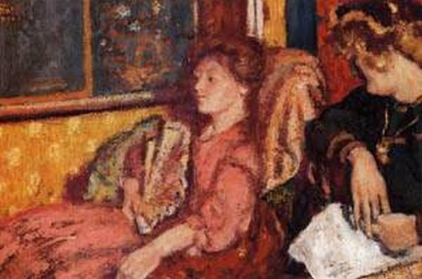 The Talk aka Two Women in an Interior 1904